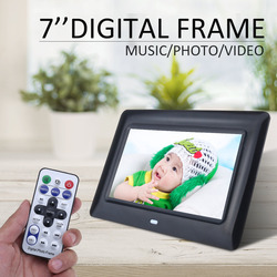 7 inch LED Backlight HD 1280*800 Full Function Digital Photo Frame Electronic Album digitale Picture Music Video