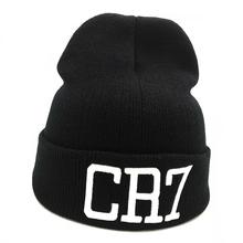 CR7 czapki czapka robiona na drutach czapki zimowe Skullies Bonnet Cristiano Ronaldo czapki zimowe dla mężczyzn damska czapka zimowa zimowe sporty narciarskie ciepła czapeczka tanie tanio Skullies czapki Stałe Unisex Dla dorosłych Akrylowe Na co dzień ZGYF JCH