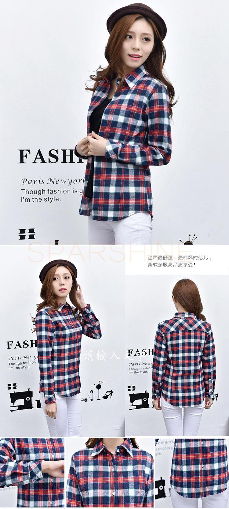 HTB1pFHkLFXXXXc5XFXXq6xXFXXX8 - Girl's Plaid Flannel Shirt PTC 67