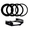 100% GUARANTEE  4 pcs 58 67 72 77MM Adapter Ring + Lens Filter Holder Set for Cokin P Series