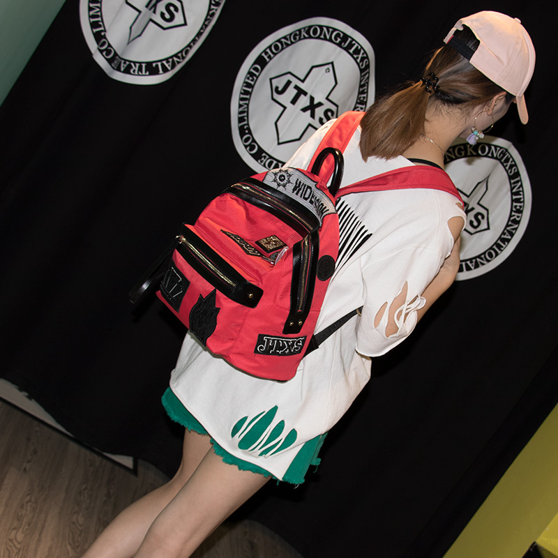 8cf9710ad03 JTXS Fashion Women Oxford Backpack for Teenagers Girls Famous Designer Cute  School Shoulder Bags High Quality Female Backpacks Tags