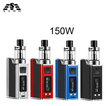 New Polar Night 150w liquid electronic cigarette led vaporizer 2ml 1500mah 150w e cigarettes vape pen box mod kit hookah vaper(China)