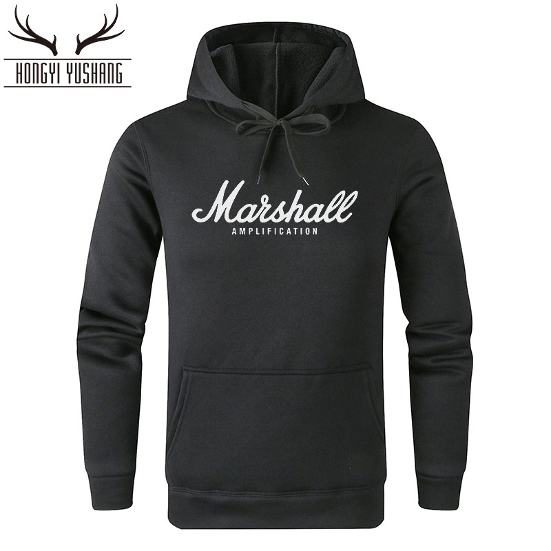 Men's Marshall Hoodies Sweatshirts Mulheres Popular Sound Band Streetwear Hip Hop Men Hooded Clothes Sudaderas Para Hombre W02