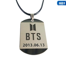 Bangtan7 Member Tag Necklace (9 Models)