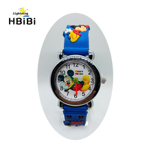 Cartoon Mickey Wach For Children Girls Boys Kids Watches Sil