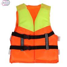 Jaunimo Vaikų profesionalų gyvenimo liemenė Vaikų universalus poliesterio gelbėjimosi liemenė putplasčio plūduriuojantis plaukimo valtimis slidinėjimo liemenės saugos produktas