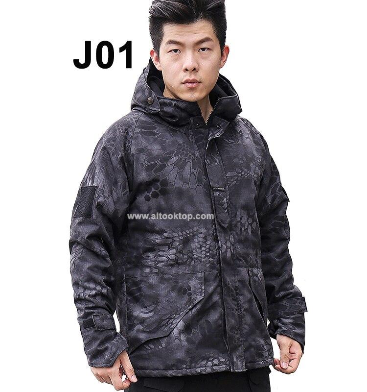 Куртка Софтшелл мужская куртка-бомбер Открытый военный тактический Охота Одежда водонепр ...