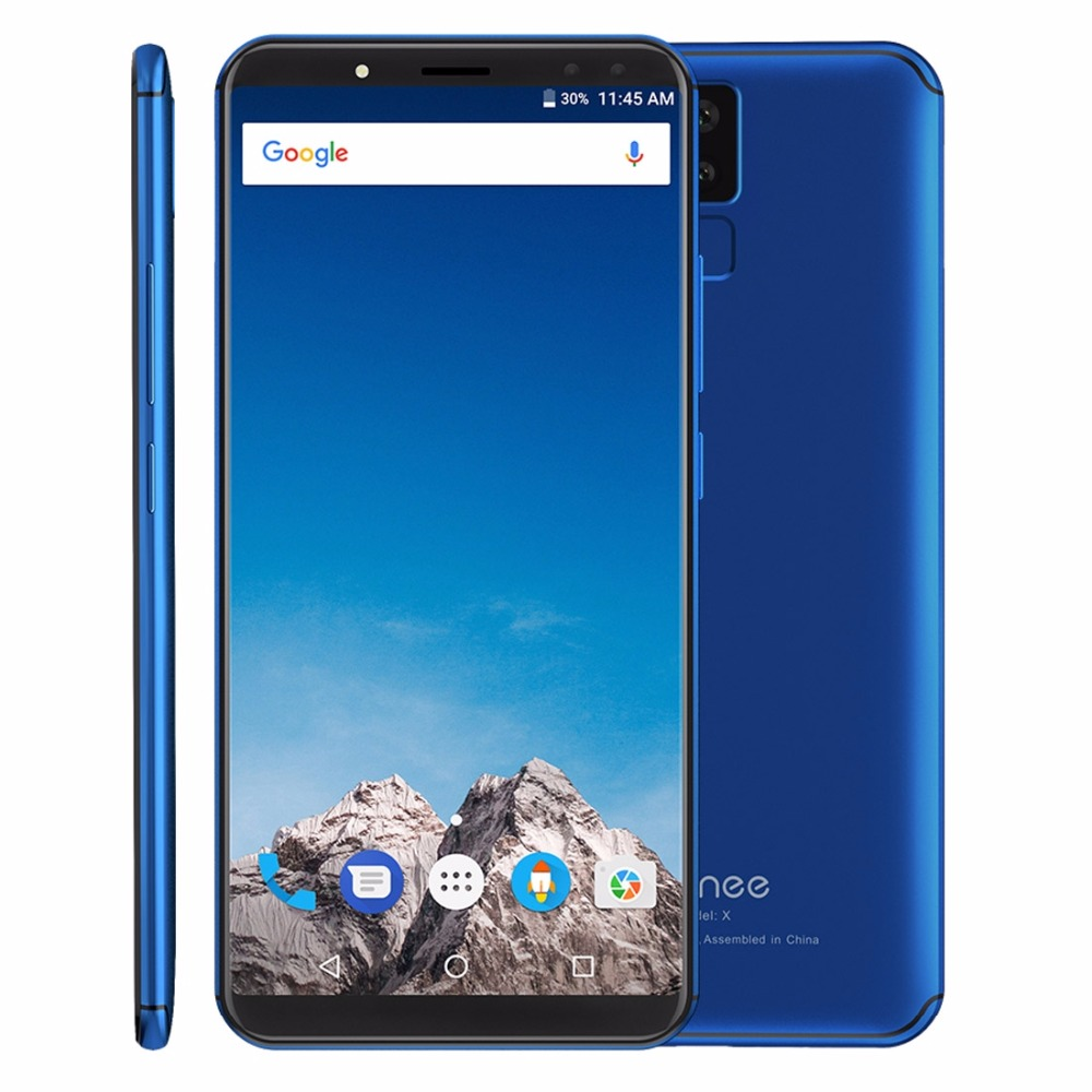 vernee X 6GB RAM 128GB ROM 6.0 inch 18:9 IPS Screen MTK6763 Octa Core Android 7.1 Smartphone Fingerprint 6200mAh OTG Cellphone