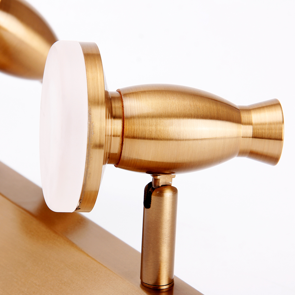 Zerouno modern vanity light bathroom fixtures for home LED Wall Lamp Sconce Indoor dressing Mirror lighting Aluminum Acryl Lamps