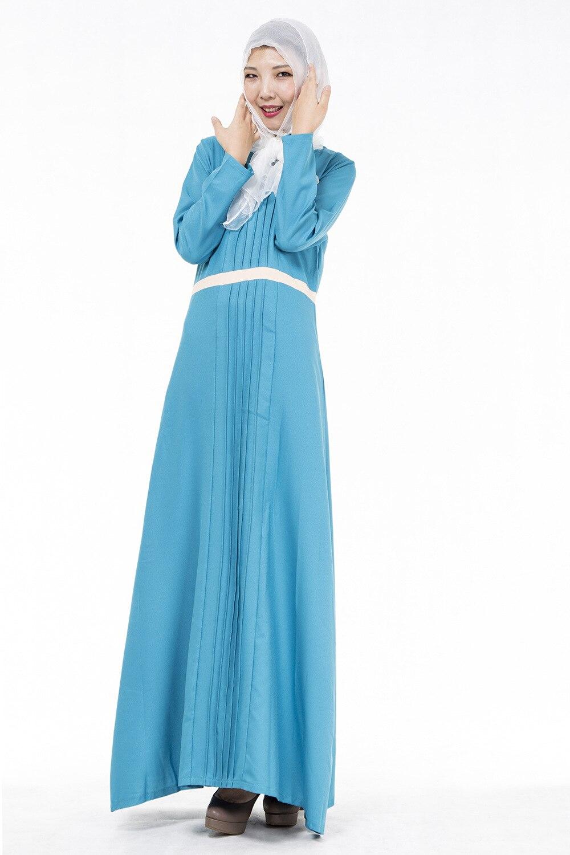 2016 Adult Broadcloth Polyester Top Fashion Lotus font b Islamic b font Abayas font b Abaya