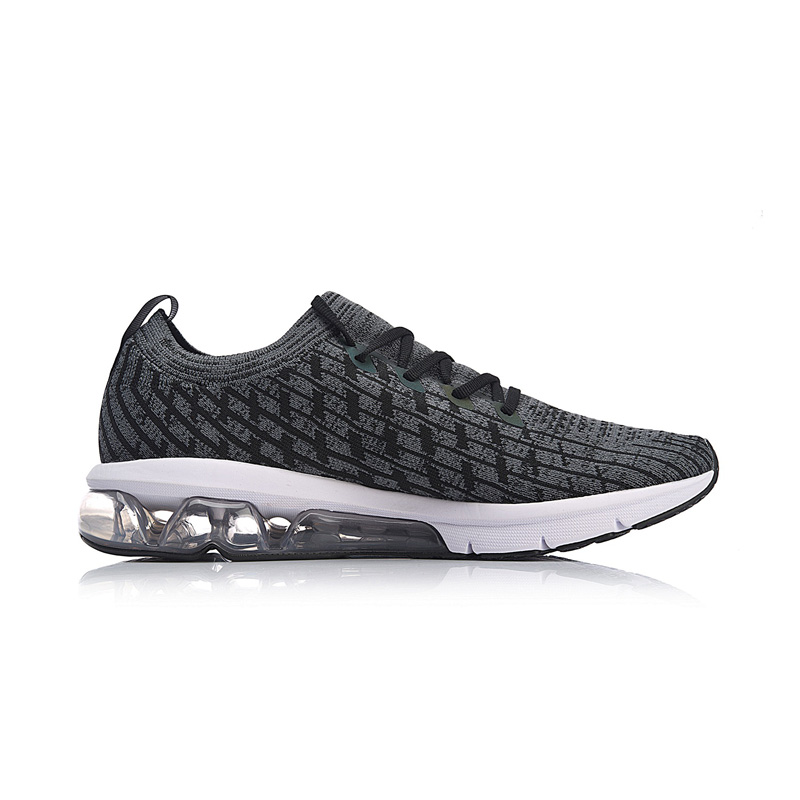Li-ning hommes bulle ARC coussin chaussures de course réfléchissant Mono fil respirant doublure chaussures de Sport baskets ARHN049 XYP753 - 4