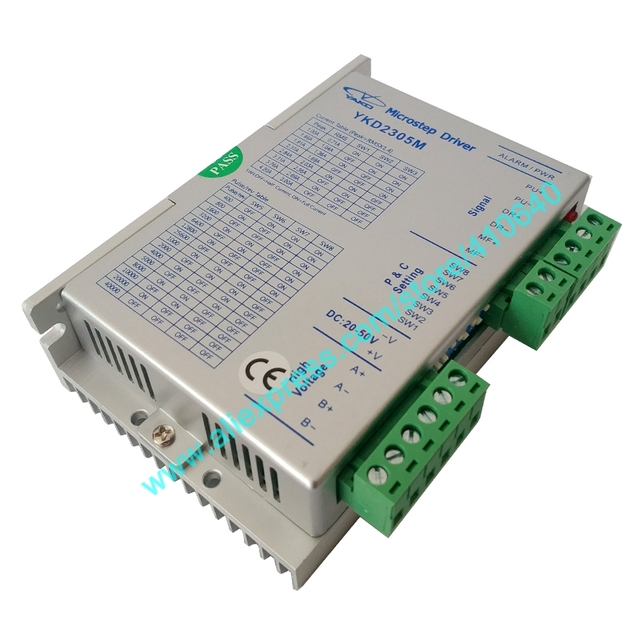 Genuine YAKO YKD2305M BKD245M Stepper Motor Drive for NEMA 17 to 34 Stepper Motor with DC20 to 50 V 3A Free Shipping