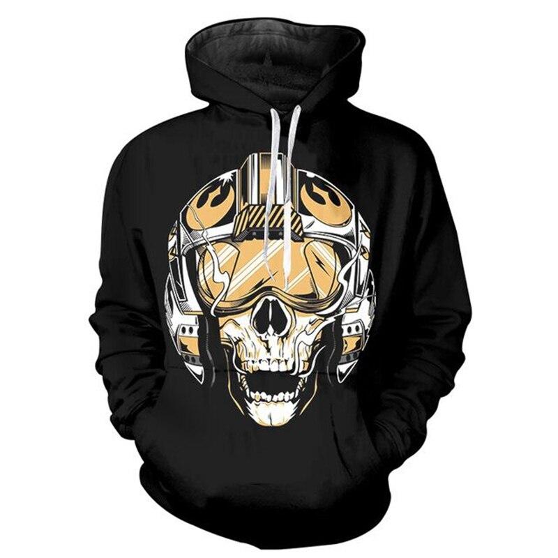 CFYH 2018 New Men/Women Star Wars 3D Hoodie Cool Print Sweatshirt Fashion Game/Movie Super Hero Hooded