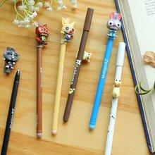 South Korean cute cartoon stationery 0.5 mm gel pen students creative pure and fresh black ink pen