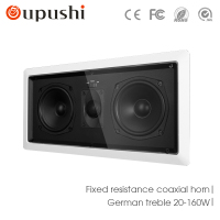 10 100W 4 8 OhmHome Theater Audio Coaxial Suction Speakers Rectangular Speakers