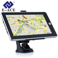 E ACE 7 Inch GPS Navigation 128M+8GB 800MHZ Bluetooth HD Screen Car Truck Sat Nav Navigator Europe Free Maps Russia Navitel