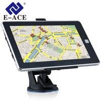 E ACE L06 7 Inch GPS Navigation 128M+8GB 800MHZ Bluetooth HD Screen Car Truck Sat Nav Navigator Europe Free Maps Russia Navitel