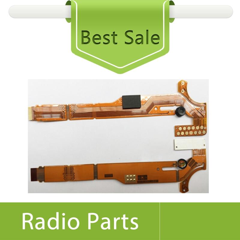 imágenes para 5 X Accesorios de Cable Flexible Para Motorola GP328 HT1250 GP338 Radios de Dos Vías