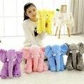 40 CM de Pelúcia Elefante de Brinquedo Miúdos Novos Grandes Brinquedos De Pelúcia para chidren aniversário & presente de natal pokemon boneca almofada de dormir de volta pelúcia