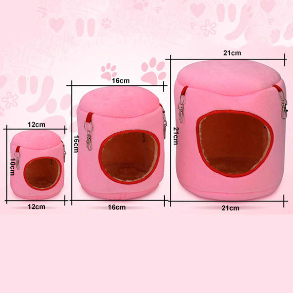 Mini Animals Hamster Bed Guinea Pig Chinchillas Squirrel Bed Nest Hamster House Cage Accessories