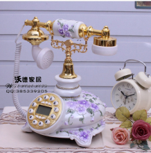 The rose garden antique telephone European style retro fashion wedding gift set