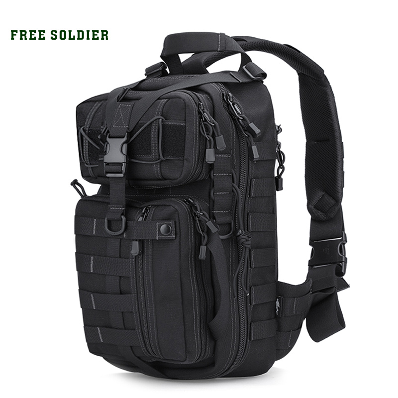 FREE SOLDIER outdoor camping hiking backpack tactical men s backpack Daily Ultralight bag for climbing