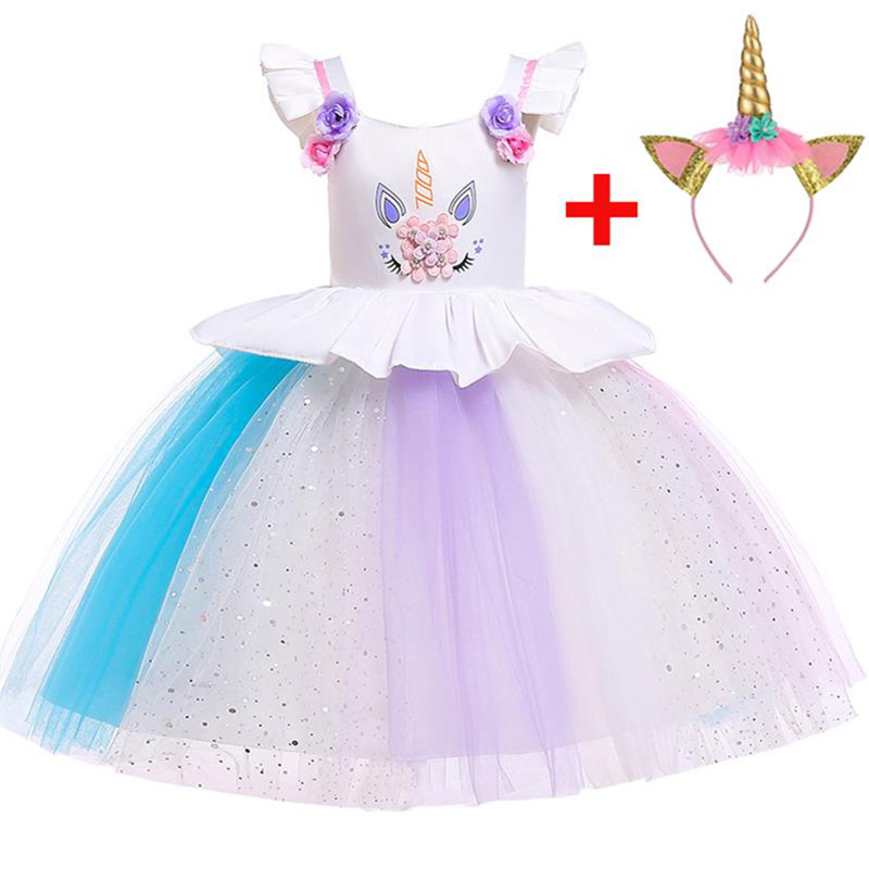 Hot   Flower     Girl     Dress   Children Clothing Kids Princess Party wedding First Communion   Dresses   baby ball gown costume L5090