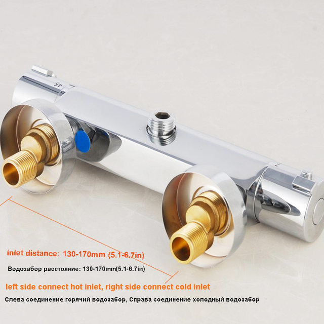 Buy Brass Thermostatic Mixing Valve Shower Faucet: Aliexpress.com : Buy On Sell Free Shipping Thermostatic