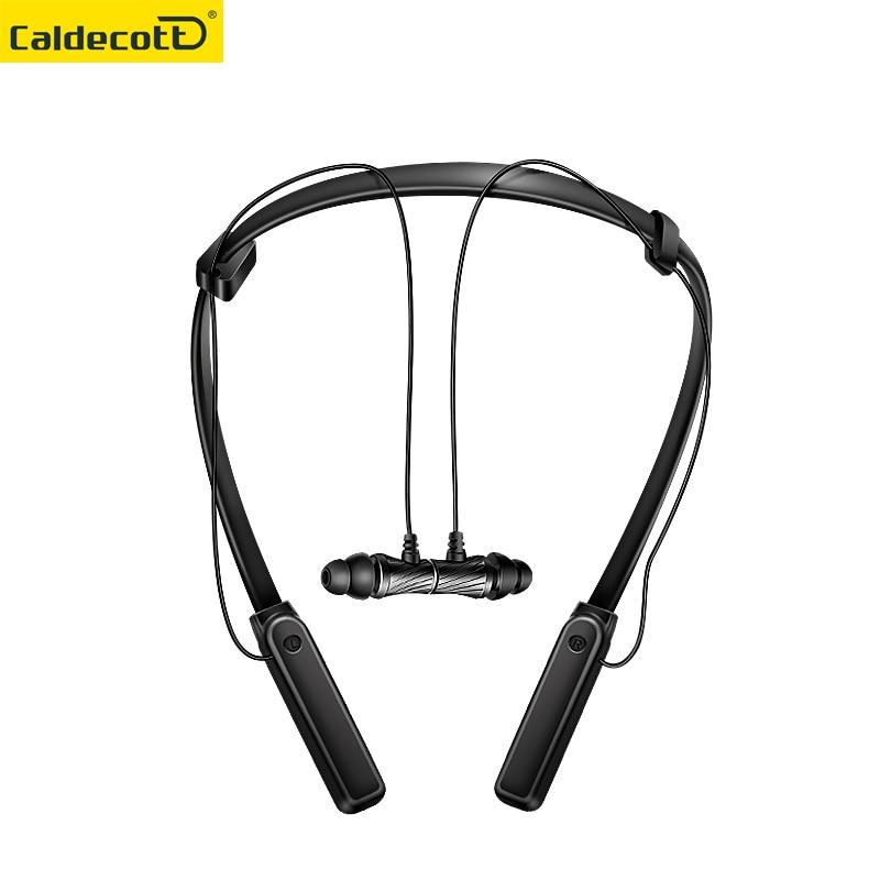 Wireless Neckband Magnet Earphone In-ear Headset Sport Running Music Bluetooth Earphone Headset Wireless Earbuds Headphones MIC