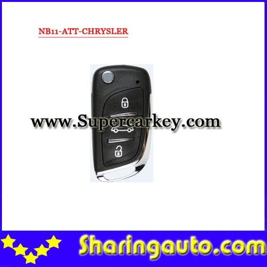imágenes para Envío gratis (1 unidades) Keydiy NB11 KD900 clave remoto de 3 botones con SKD-NB11 (NB-ATT-Chrysler) modelo para Chrysler, Jeep, Dodge