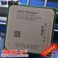 Оригинальный ПРОЦЕССОР AMD Phenom X4 9550 процессор 2.2 Г AM2 + 940 Pin/Dual-CORE/2 МБ L2 Cache/95 Вт переменная Бесплатная Доставка шт