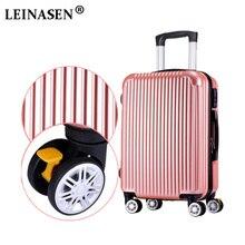 """Чехол для тележки ABS + PC20 """"24"""" Коробка для багажа с багажником Леди Мужская дорожная чемоданка Взрослый переносной чемоданчик с чемоданом"""