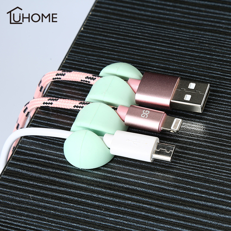 Car Wire Cable Holder Multifunctional Clip Fixer Organizer Home Office Charger Line Clasp High Quality Cable Clip image
