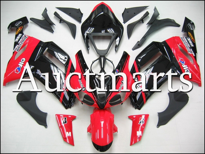 Fit for kawasaki ZX-6R 2007-2008 high quality ABS Plastic motorcycle Fairing Kit Bodywork ZX6R 07-08 ZX 6R CB15 hot sales popular cowling for zx 6r 07 08 kawasaki ninja zx636 zx 6r 636 zx6r 2007 2008 nakano body fairings injection molding