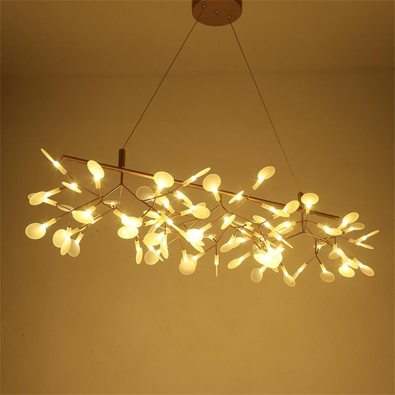 Modern Home Decoration Creative Dining Room Firefly Chandelier Living Room Restaurant Firefly Suspension Lights Free Shipping free shipping silk lantern lights ufo flat section of creative living room bedroom dining hall chandelier