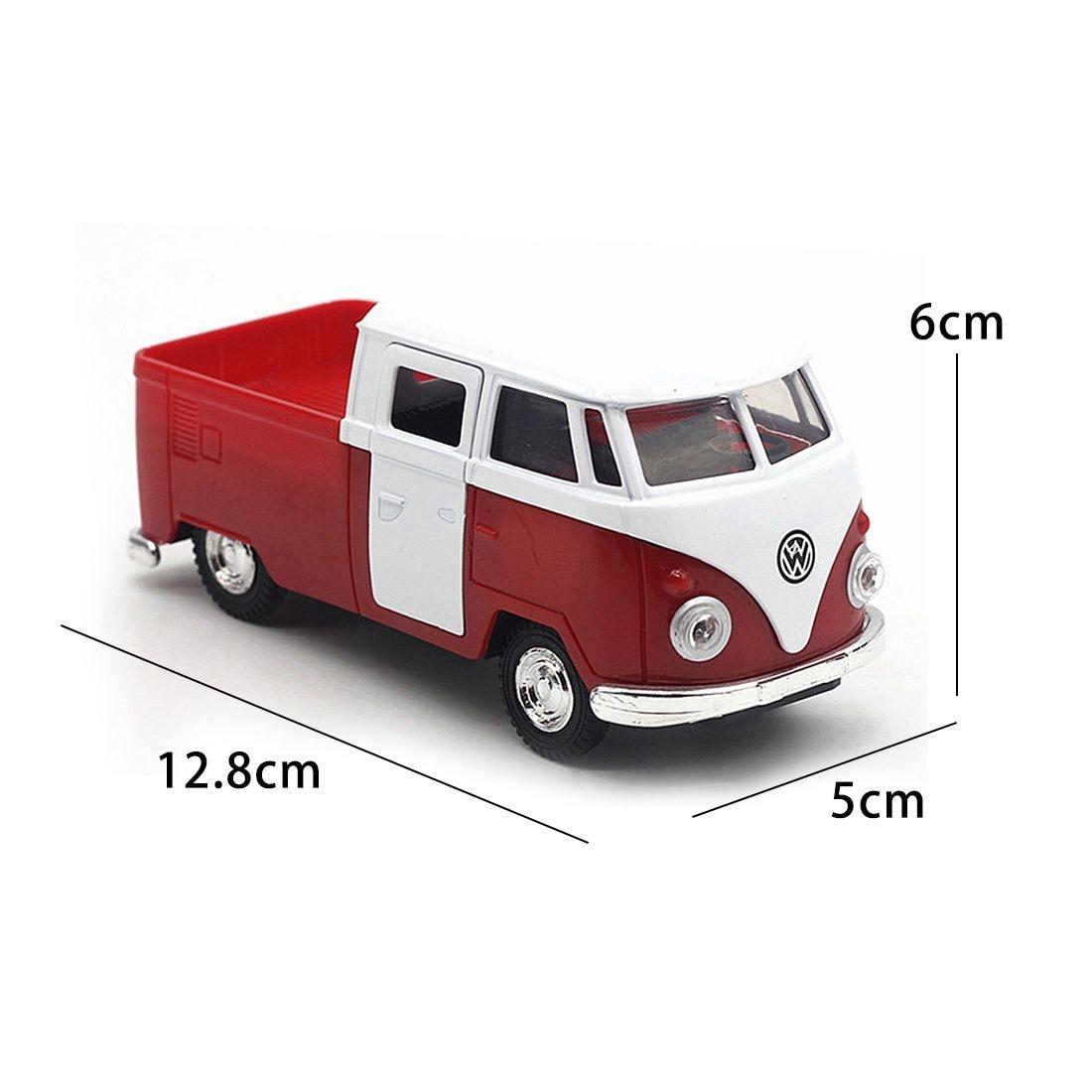 Горячая Распродажа красный моделирование 1:32 звук и свет музыка отступить Ретро фургона пожарная машина сплава модель
