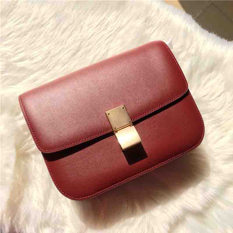 Women Messenger Bags Small Size Real Soft Leather High Quality Luxury Women