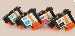 REMAN HP 12 głowicy drukującej C5026A żółty C5025A MAGENTA C5024A CYAN C5023A czarna drukarka