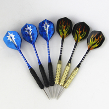 High quality boutique set professional 6pcs steel darts two styles style gift box packaging