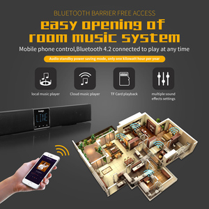 Image 3 - Smalody Home Theater TV Soundbar 20W Bluetooth Speaker 4400Mah Portable Bass Wireless Subwoofer With Remote Control LCD Display