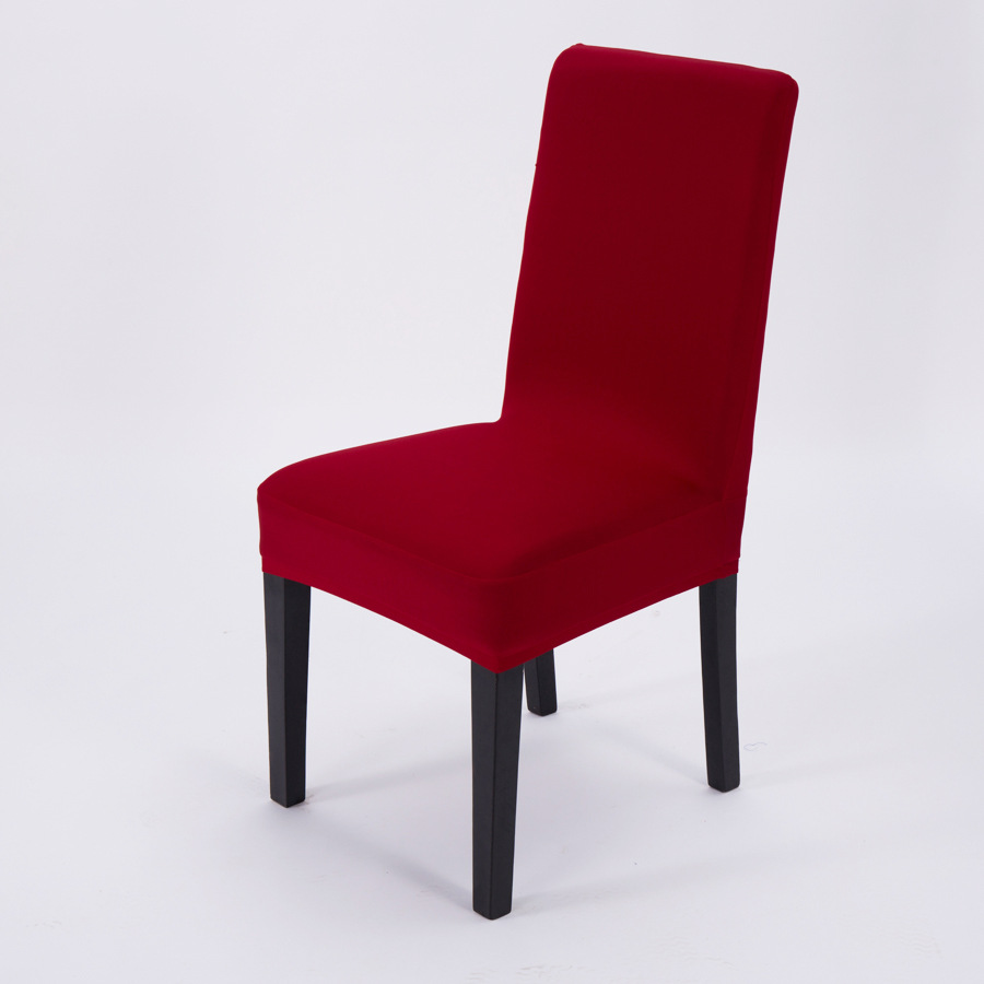 Wholesale Spandex Half Overlay Chair Cover Simple Hotel Chair Covers