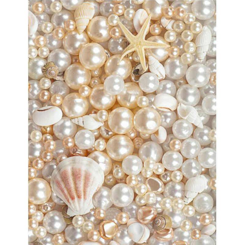 5D алмазная вышивка море Кристалл квадратная Алмазная картина жемчуг и сеастар
