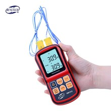 BENETECH GM1312 50 300C Thermocouple Thermometer Dual channel Digital Temperature Meter For K J T E