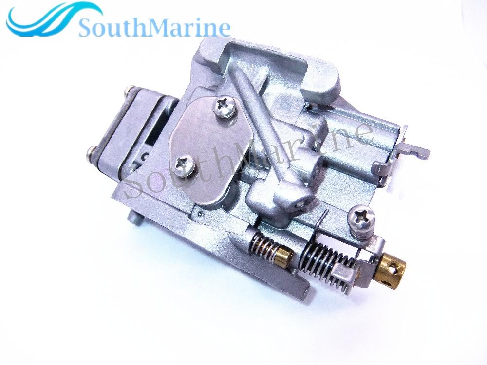Carburetor Assy 6G1-14301 6G1-14301-01 for Yamaha 6hp 8hp 2-stroke outboard motors 6N0-14301 66m 14301 11 66m 14301 00 carburetor assy for yamaha 4 stroke 15hp f15 outboard motors