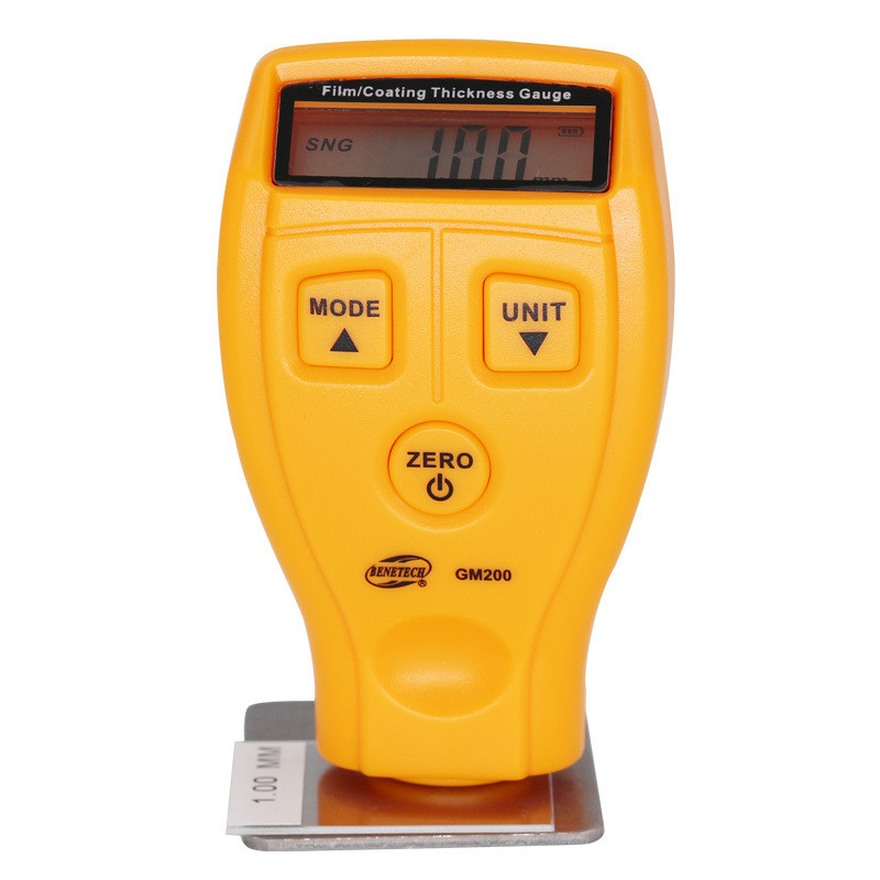 High - precision coating thickness gauge film instrument car paint detector paint thickness measuring instrument measurement of coating thickness gauge paint film thickness measurement iron and aluminum dual purpose paint film instrument car