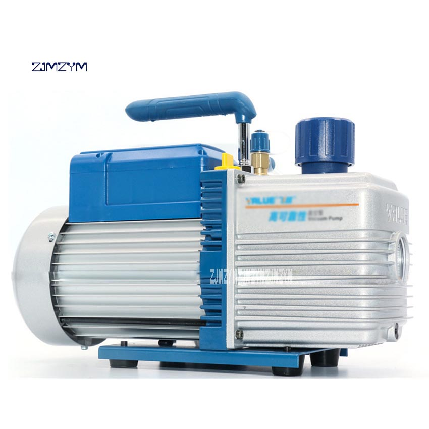 Professional 4L Large Vacuum Pump FY-4C-N Portable High-pumping Vacuum Pump Air Conditioning Maintenance 220V 550W Hot Selling vacuum pump inlet filters f007 7 rc3 out diameter of 340mm high is 360mm