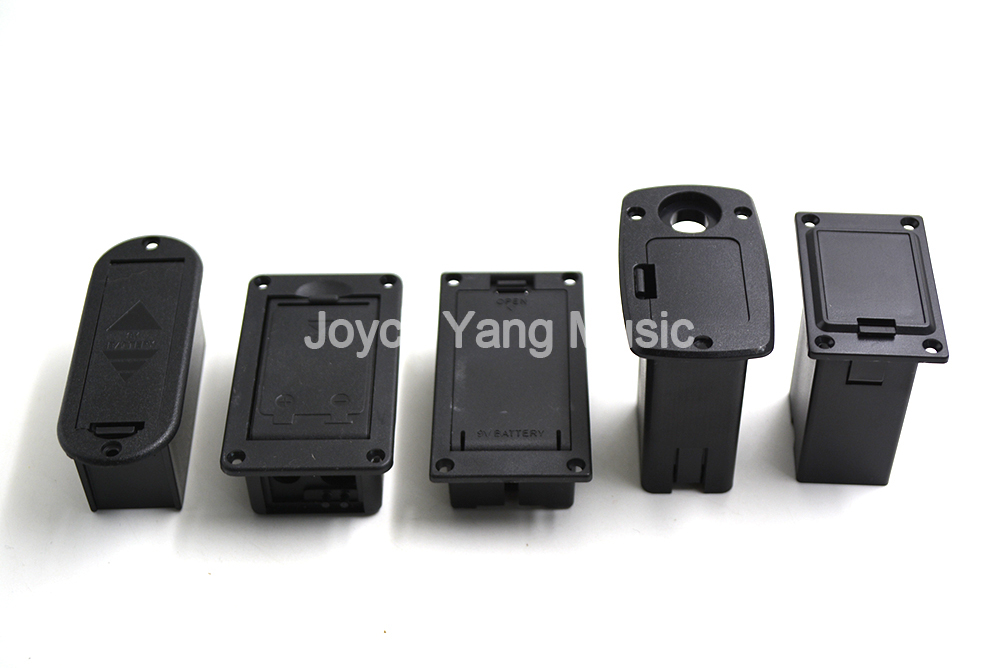 *NEW Battery Cover Box Case Compartment for Active Guitar /& Bass Parts Black