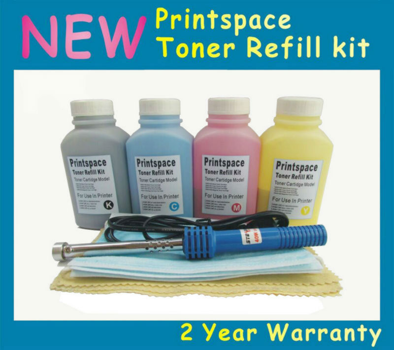 4x NON-OEM Toner Refill Kit Compatible For Samsung XPRESS SL C460 C460FW C410 C410W C460W CLT-406S CLT-K406S KCMY refill for samsung proxpress c 410 fw mltd4063 s clt k 4063 slc 412 w clt k 4062 els xaa xil see compatible new replacement
