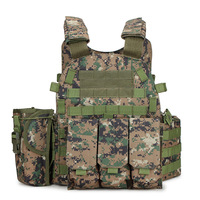 Tactical Vest Protection Body Armor Military Army Combat Vest Hunting Accessories Outdoor Airsoft CS Games Vest