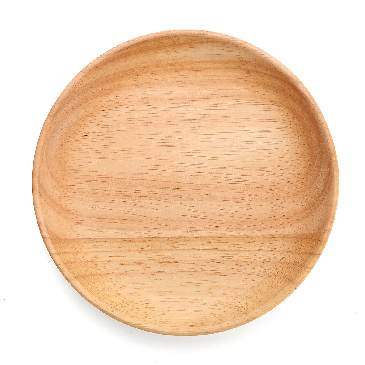 14cmX2cm Round Wooden Plate Dishes Breakfast Snack Serving Trays Salad Bowl Platter Home Kitchen Dinner Food Holder Utensils-in Dishes \u0026 Plates from Home ...  sc 1 st  AliExpress.com & 14cmX2cm Round Wooden Plate Dishes Breakfast Snack Serving Trays ...